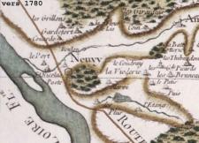 1780 carte de Cassini