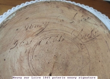 1865 poterie neuvy signature
