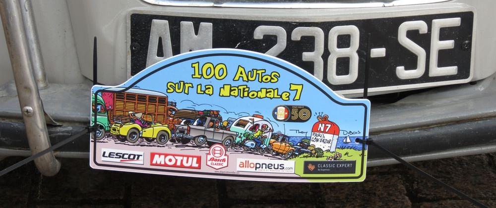 100 voitures RN7 3